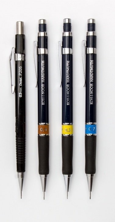 Good Different Types Of Mechanical Pencil Lead Simple Why Use A Clutch Pencil? - Jackson's Art Blog Photos
