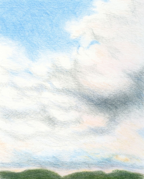 Good Drawing Clouds With Colored Pencils Lessons Fueled By Clouds & Coffee: Clouds Pictures
