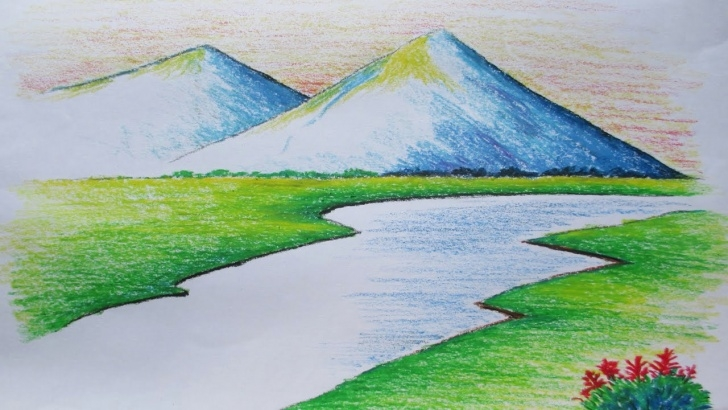 Good Easy Landscape Drawing For Beginners Lessons Landscape Drawing For Beginners And Easy Landscape Drawing New Pics