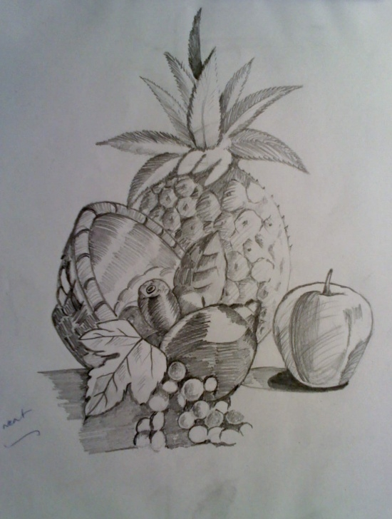Good Fruits Pencil Drawing Easy Pencil Drawing Methods | Pencil Drawing Techniques | Drawing Photos