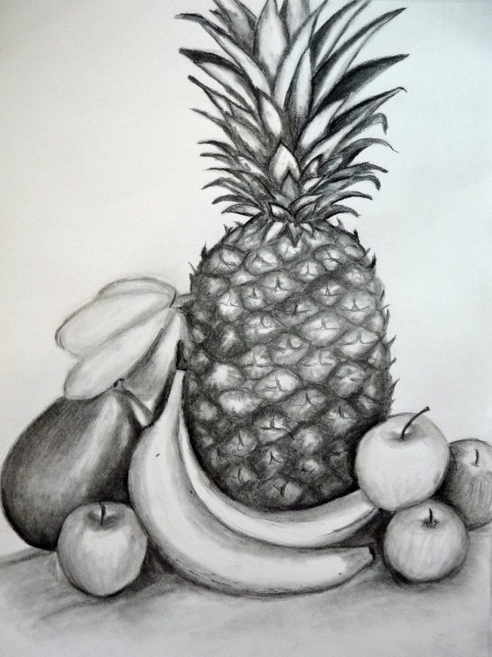 Good Fruits Pencil Shading Techniques How To Draw A Still Life Composition: A Step-By-Step Guide Picture