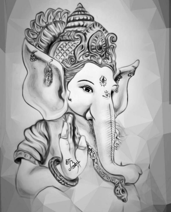 Good Ganesh Ji Pencil Sketch Techniques 8+ Amazing Ganesh Pencil Sketch Collection - Sketch - Sketch Arts Image