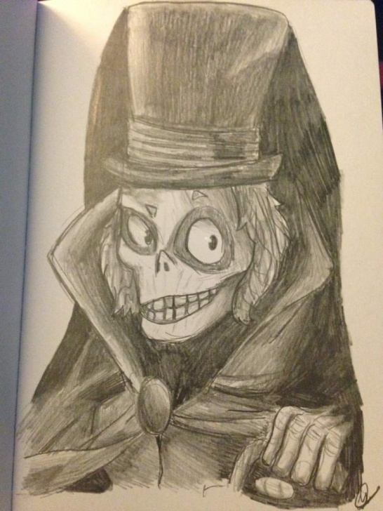 Good Ghost Pencil Drawing Lessons Hatbox Ghost Pencil Drawing | Disney Amino Image