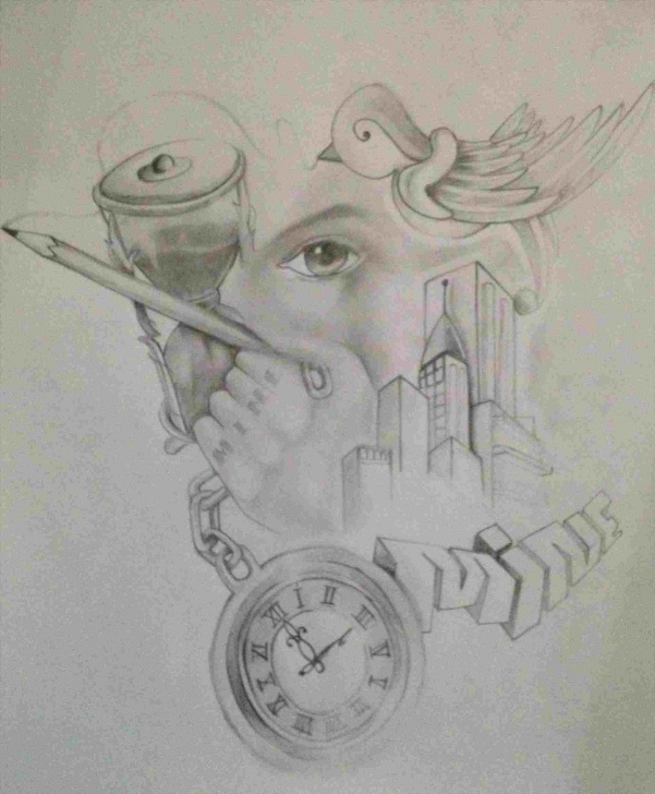Good Graffiti Pencil Drawing Free Girl Pencil Drawings Wwwtopsimagescomrhtopsimagescom Sketches Easy Images