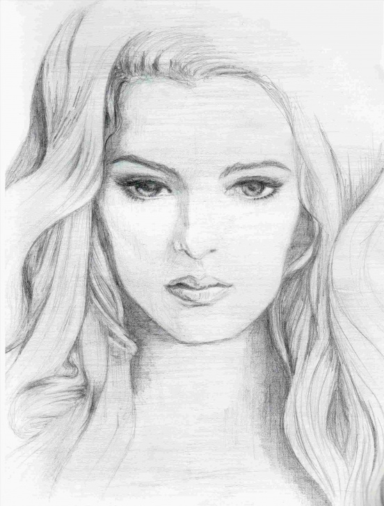 Good Great Pencil Sketches For Female Techniques for Beginners Great-Drawings-Of-Femail-Faces-Pencil-Sketches-For-Female-Drawing Pic