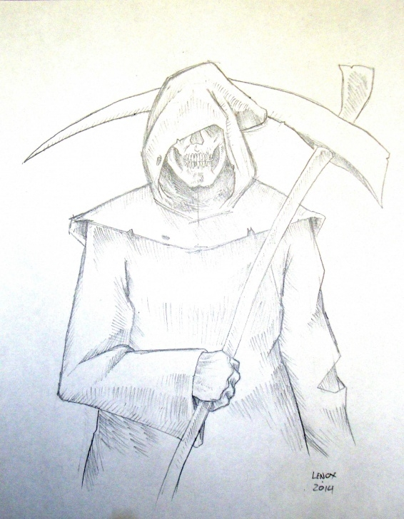 Good Grim Reaper Drawings In Pencil Techniques for Beginners Grim Reaper Pencil Drawing At Getdrawings | Free For Personal Photo