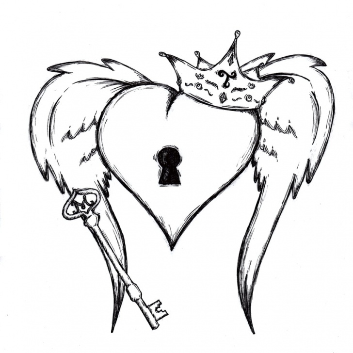 Good Human Heart Pencil Sketch Easy Human Heart Pencil Drawing | Free Download Best Human Heart Pencil Pic