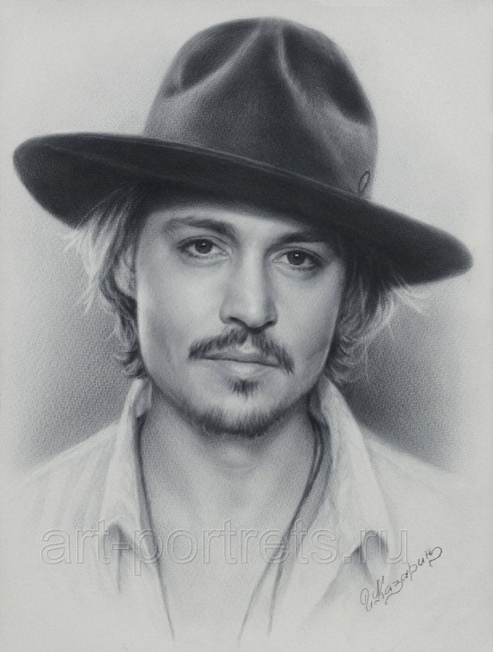 Good Johnny Depp Sketch Lessons Johnny Depp Portrait #drawing | Fan Art | Pencil Drawings, Pencil Pictures