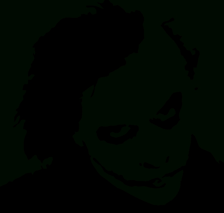 Good Joker Stencil Art Courses Heath Ledger Joker Stencil - Clip Art Library Pictures
