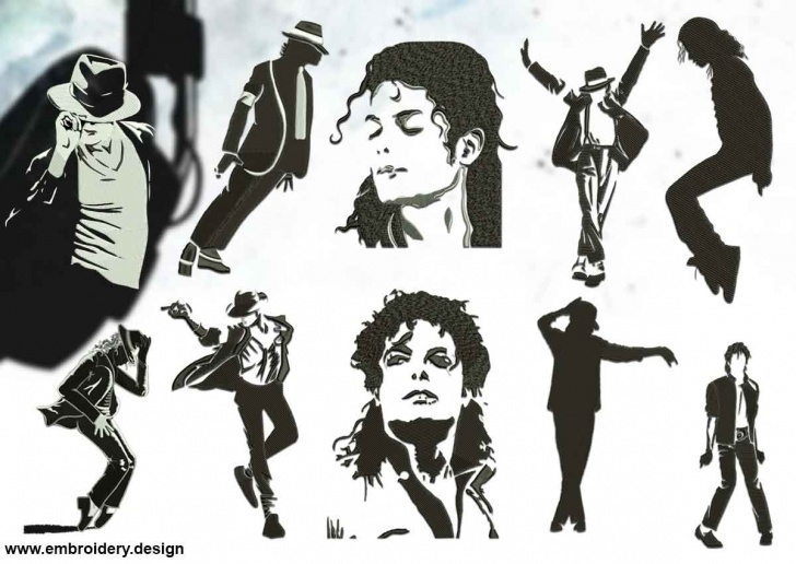 Good Michael Jackson Stencil Art Tutorials Silhouettes Of Michael Jackson Pic