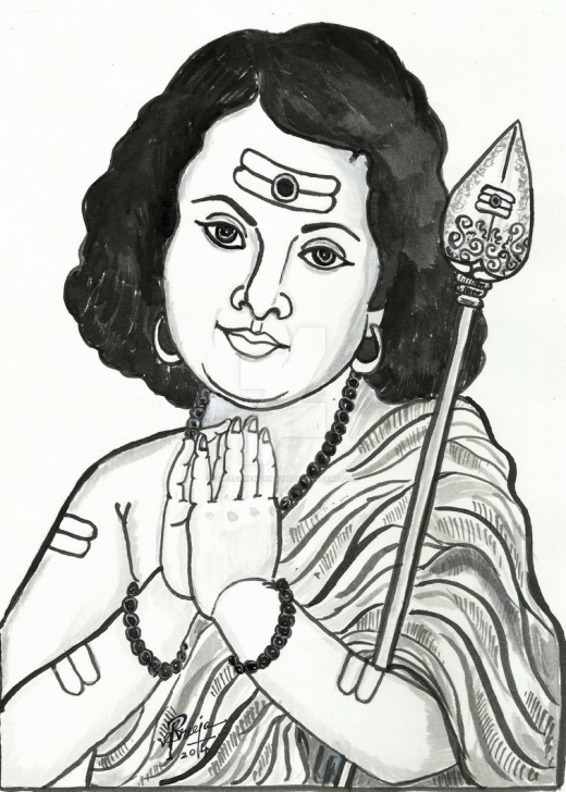 Good Murugan Pencil Drawing Easy Easy Murugan Pencil Drawing | Dedemax Image