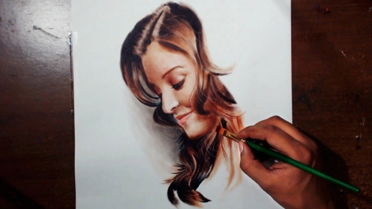 Good Oil Pencil Drawing Easy Prismacolor Painting At Paintingvalley | Explore Collection Of Image