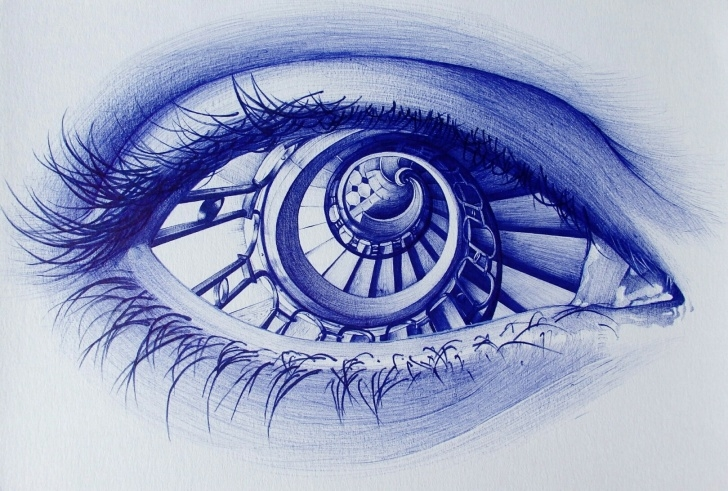 Good Pen And Pencil Drawings Techniques Ballpoint Pen Drawings | Pencil Drawings By Alexandra Miron | Artsy Images