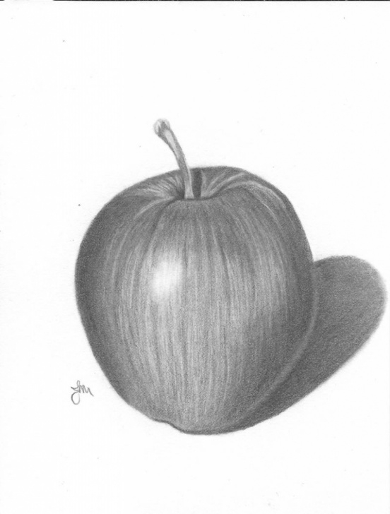 Good Pencil Drawing Of Apple Lessons Apple Pencil Drawing At Paintingvalley | Explore Collection Of Pic