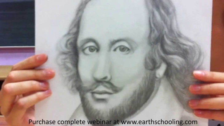 Good Pencil Sketch Of William Shakespeare Courses Waldorf Inspired Shakespeare Drawing For Eighth Grade Image
