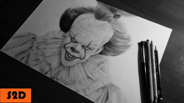Good Pennywise Pencil Drawing Ideas Drawing Pennywise From It Image