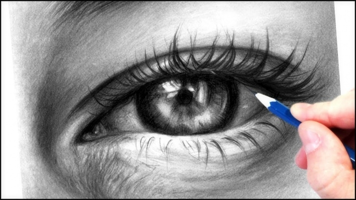 Good Realistic Eye Pencil Drawing Courses How To Draw A Realistic Eye With Graphite Pencils | Realistic Drawing  Tutorial Step By Step Photos