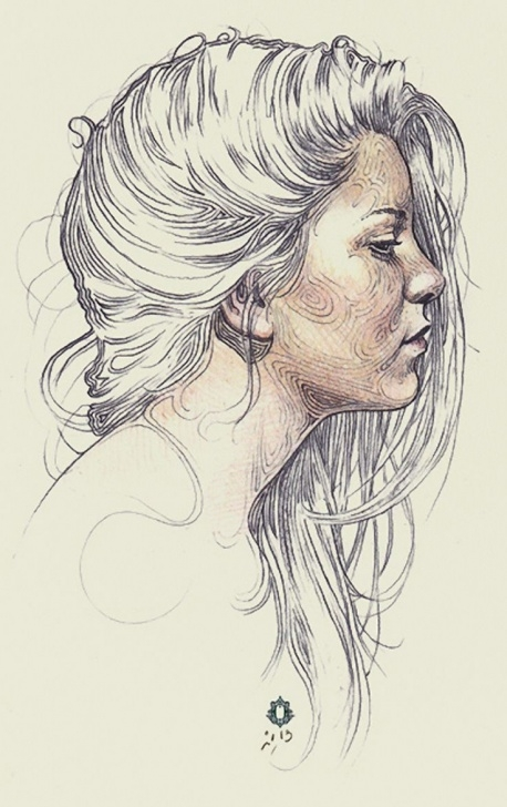 Good Side Portrait Drawing Tutorials Learn To Draw Faces   رسم   Profile Drawing, Drawings, Pencil Art Images