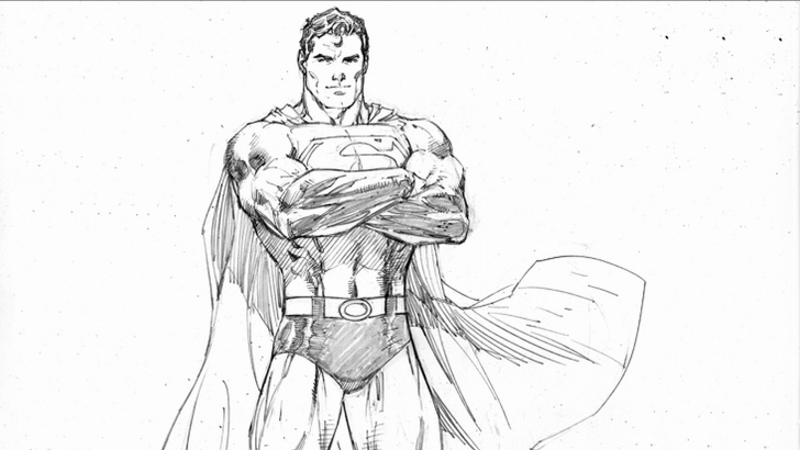 Good Superman Pencil Drawing Easy Free Download Superman Pencil Drawings Wallpapers [1920X1080] For Photos