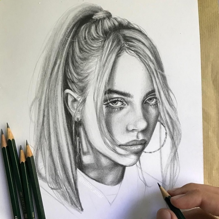 Good The Most Realistic Drawing Techniques for Beginners Secrets Of Drawing Most Realistic Pencil Portraits - #portrait Of Pics