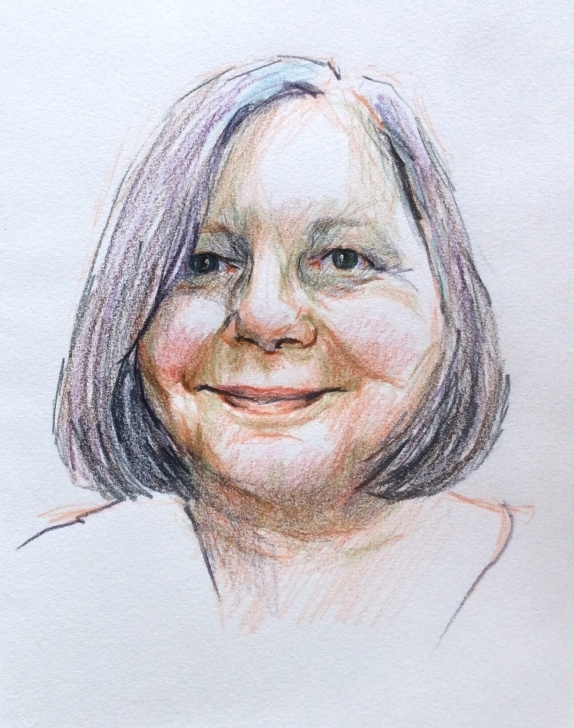 Good Watercolour And Pencil Ideas 258 Watercolour Pencil Portraits | Ros Jenke Pic