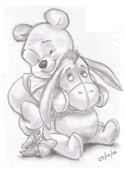 Good Winnie The Pooh Pencil Drawings Techniques Winnie The Pooh And Eeyore | Landn83 | Foundmyself | Drawing Pic