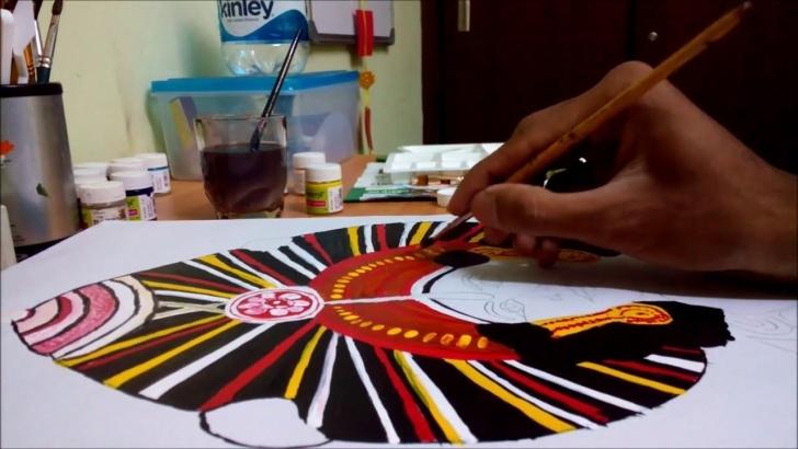 Good Yakshagana Pencil Sketch Lessons Yakshagana Painting Images