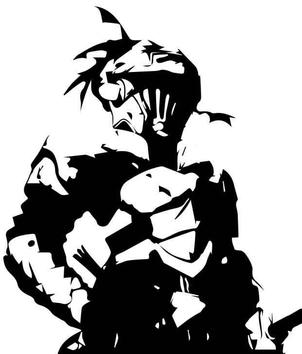 Gorgeous Anime Stencil Art Courses Goblin Slayer -- Goblin Slayer Anime Decal Sticker For Car/truck/phone Pictures