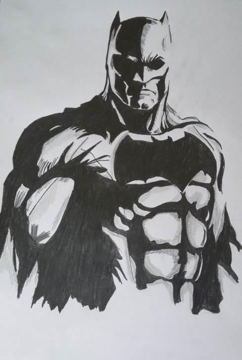 Gorgeous Batman Pencil Drawing Courses Batman Drawing At Paintingvalley | Explore Collection Of Batman Photo