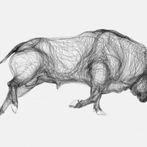 Gorgeous Bull Pencil Drawing Techniques for Beginners Fine Art Bull Animal Drawing Graphite Pencil Drawing On Paper Photos
