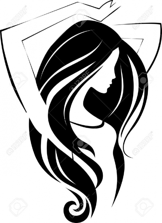 Gorgeous Easy Stencil Art Tutorials Woman Silhouette - Google Search   Easy Crafting Ideas   Sketch Picture