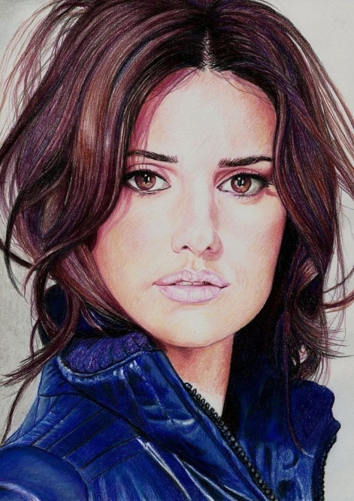 Gorgeous Famous Colored Pencil Artists Techniques Penelope Cruz By Pevansy On Deviantart | Famous People By Different Pics