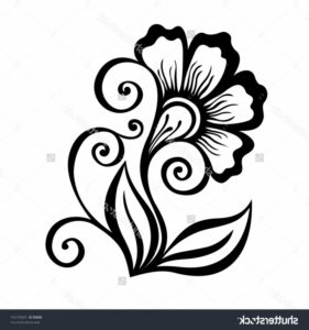 Gorgeous Flower Design Pencil Drawing Tutorials Image Pencil Art Flower And Pencil Drawings Of Flowers Art Pencil Photo
