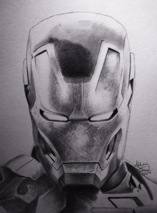 "Gorgeous Iron Man Pencil Art Techniques for Beginners Abhishek Samal On Twitter: ""pencil Art Of Iron Man #marvel #ironman Photos"