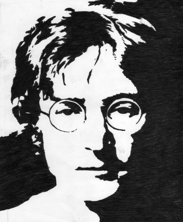 Gorgeous John Lennon Stencil Art Courses John Lennon Stencil | Balaxlee | Flickr Picture