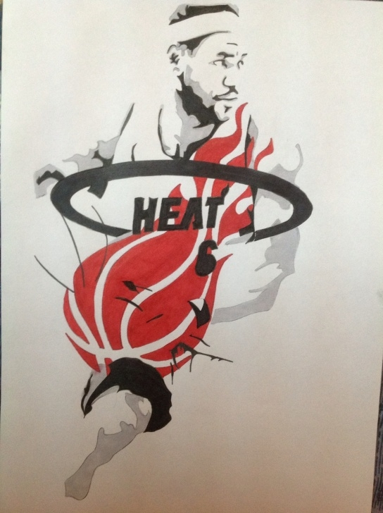 Gorgeous Lebron James Stencil Art Tutorial Stencil Art Picture