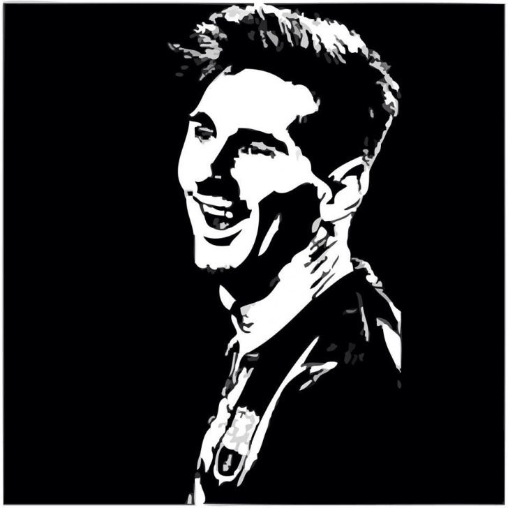 Gorgeous Messi Stencil Art Courses 378. Edit: Messi [Barcastuff] | Messiiii❤ In 2019 | Leonel Messi Image