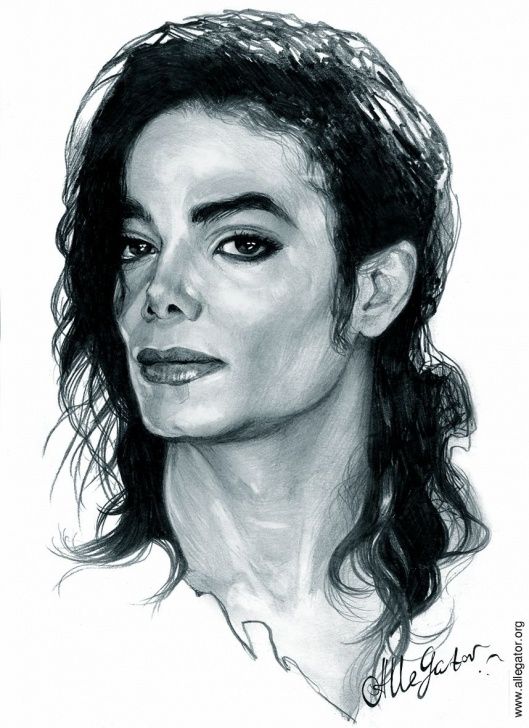 Gorgeous Michael Jackson Pencil Sketch Free Michael By Allegator.deviantart On @deviantart | Michael Jackson Pic