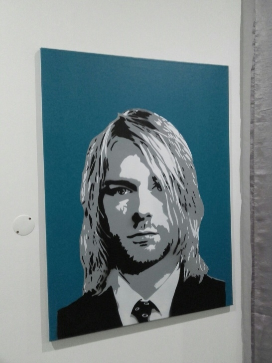 Gorgeous Multi Layer Stencil Art Courses Kurt Cobain Multilayer Stencil Paint | Art In 2019 | Stencil Images