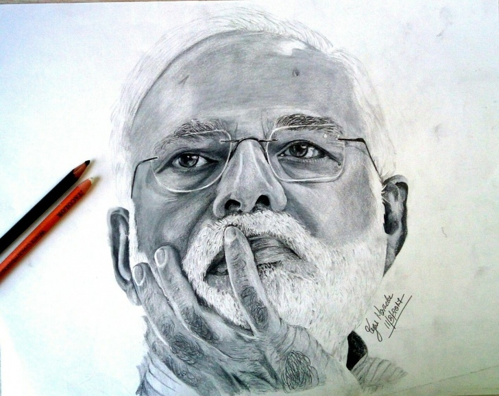 Gorgeous Narendra Modi Pencil Sketch Simple Pm Narendra Modi Pencil Drawing | Pencil Drawing In 2019 | Pencil Picture
