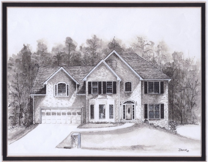 Gorgeous Pencil Art House Lessons Drawings Of Houses | House Drawings | Paper Tole3 | House Drawing Picture