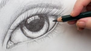 Gorgeous Pencil Drawing For Beginners Step By Step Easy Realistic Eye Step By Step Pencil Drawing On Paper For Beginners #aboutface  #3 Photo