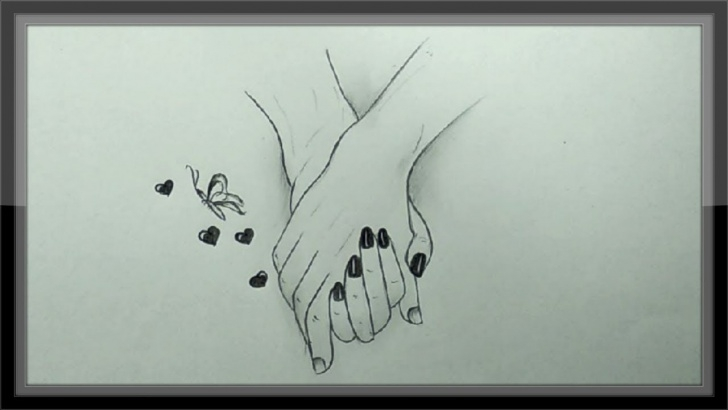 Gorgeous Pencil Sketch Design Courses Cool Pencil Drawing A Valentine Design Easy Image