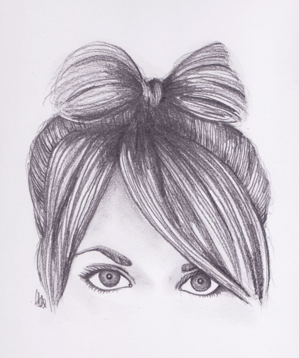 Gorgeous Pencil Sketch Of Cute Girl for Beginners Ak0Pinimgoriginalsaa37Fa Cute Pencil Drawings Tumblr 19 Best Photos Image