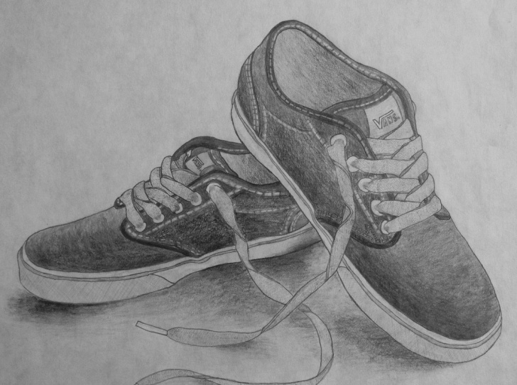 Gorgeous Shoe Pencil Drawing Free Shoe Drawing - Lessons - Tes Teach Images
