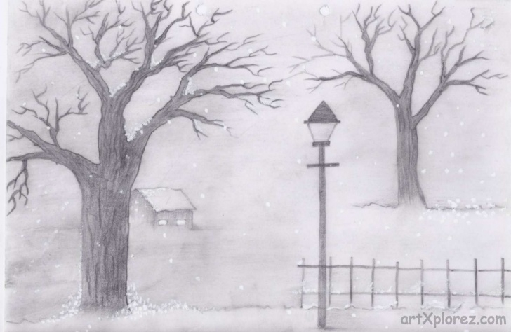 Gorgeous Simple Pencil Shading Drawings Free Simple Pencil Drawings Of Landscapes And Simple Pencil Drawing Of Images