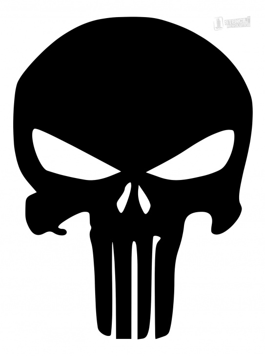 Gorgeous Skull Graffiti Stencil Tutorial Punisher Skull Stencil | Firearms | Skull Stencil, Printable Stencil Photo