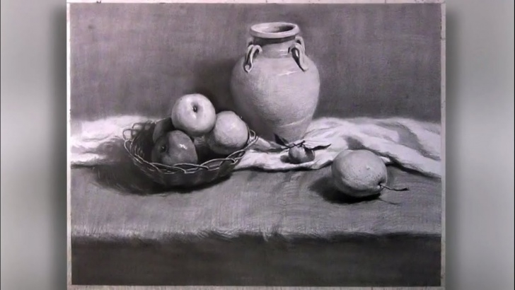 Gorgeous Still Life Pencil Drawing Tutorial How To Draw Still-Life With Pencil Picture