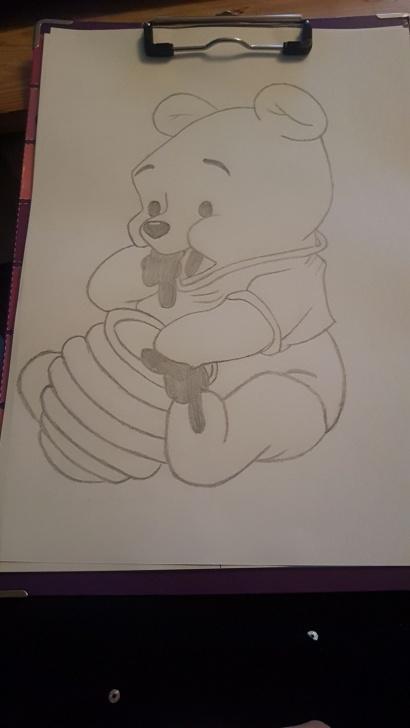 Gorgeous Winnie The Pooh Pencil Drawings Courses Winnie Pooh | Christmas Vendor 2019 In 2019 | Disney Drawings Photos