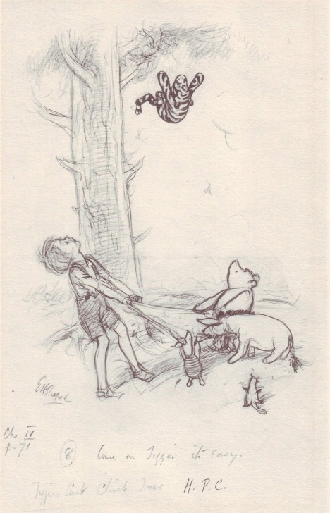 Gorgeous Winnie The Pooh Pencil Drawings Easy Original Art Stories: Winnie The Pooh Pencil Sketches Photo
